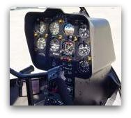 Robinson R-44 instrument panel