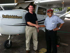 Accelerated Flight Training - Orlando, Florida - SunState