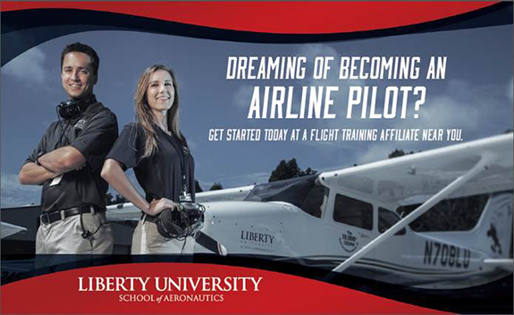 SunState Aviation and Liberty University Partner To Help You!